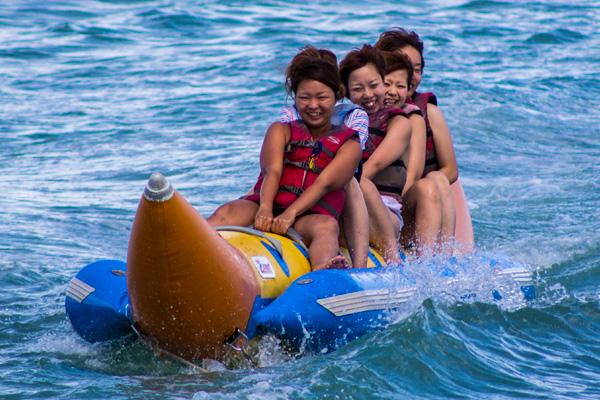 Banana Boat Women Water Sports Guam