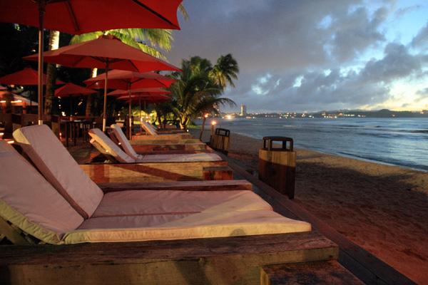 Beach Bar Chairs Happy Hour Guam