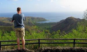 Cetti Bay Overlook View Guam