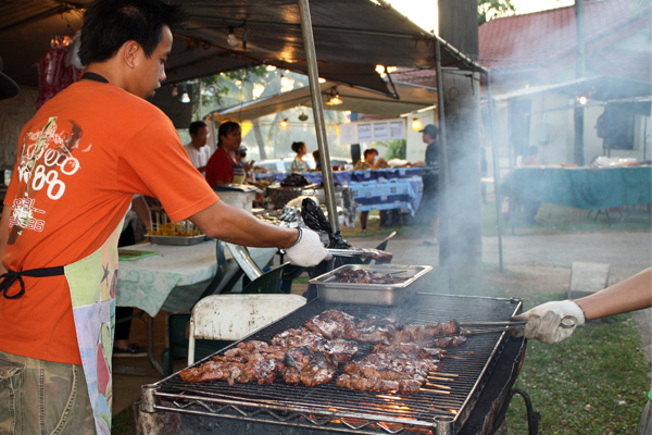 BBQ Grill Chamorro Village Guam