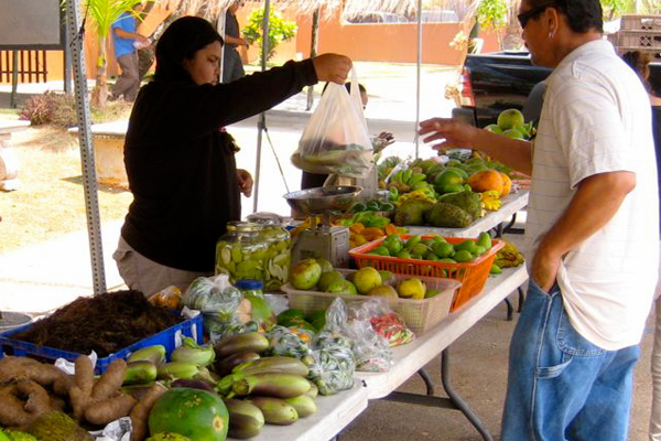 Produce Chamorro Village Guam