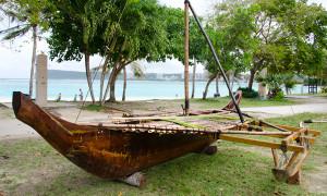 Duduli Canoe Chamorro Guam
