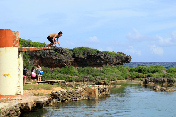 Jumper Inarajan Pools Beach Guam