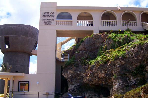 Stone Center Latte of Freedom Guam