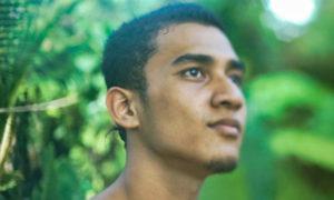 Micronesian man on Guam