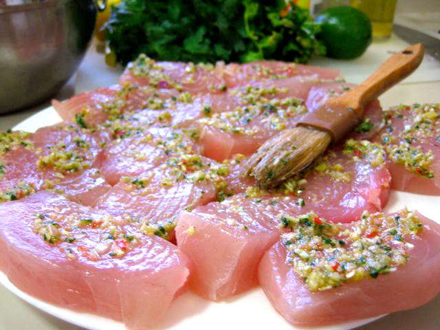 Marlin Marinated Guam Fresh Factor