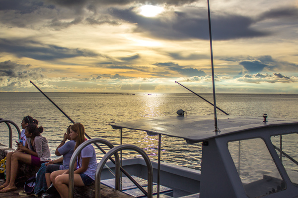 People Boat Merizo Pier Guam