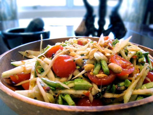 Thai Papaya Salad Guam