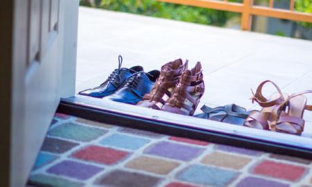 Shoes at Door Guam