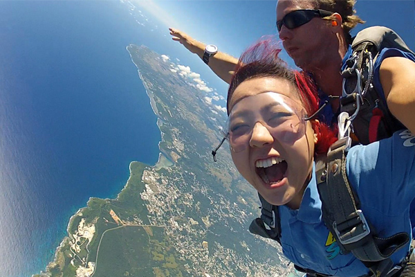 Skydive Guam Adventure Activities
