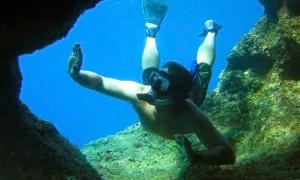 Snorkeler Guam