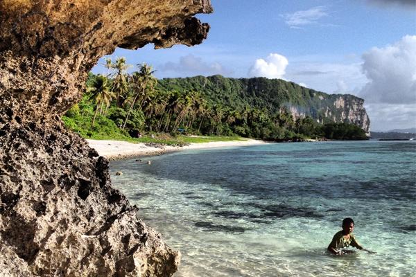 Boy Tanguisson Beach Guam