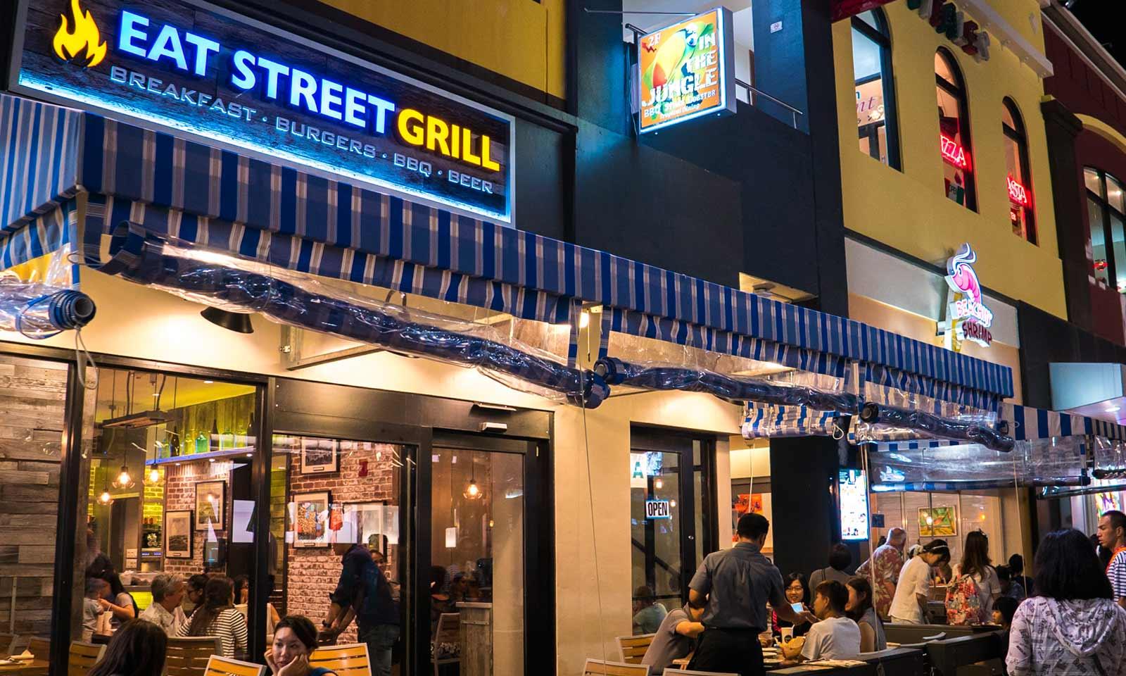 Eat Street Grill in Tumon, Guam