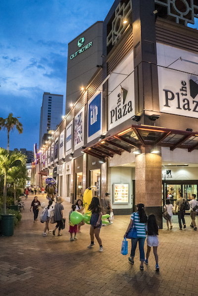 Exterior Plaza Shopping Center Guam
